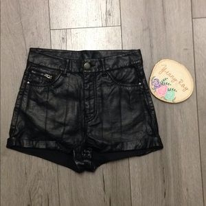 Divided high rise shorts size 2
